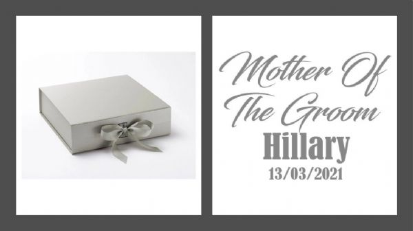 Mother Of The Groom Large Luxury Personalised Gift Box